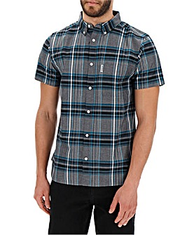 Lambretta James Check Shirt Long
