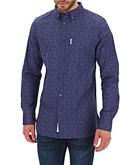 Lambretta Paisley Print Shirt Long