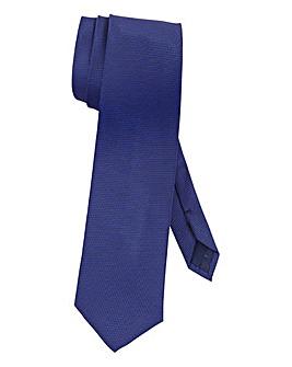 Navy Plain Tie