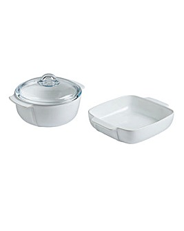 Pyrex Signature Roaster Set