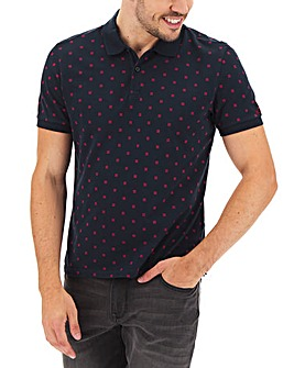 Ben Sherman Geo Print Polo Long
