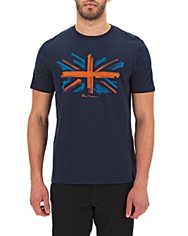 Ben Sherman Arrow Flag T-Shirt Long