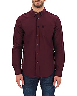 Ben Sherman Long Sleeve Oxford Shirt L