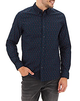 Ben Sherman Floral Long Sleeve Shirt L