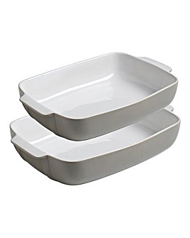 Pyrex Signature Grey Roaster Set