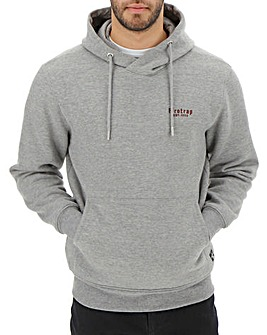 Firetrap Grey Marl Riley Hoody