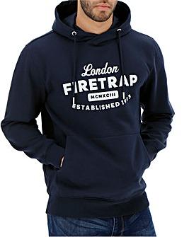 Firetrap Navy Roman Hoody