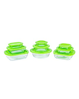 Pyrex Cook&Store 18 Piece Set