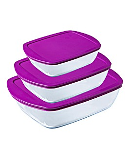 Pyrex Cook&Store 3 Piece Set