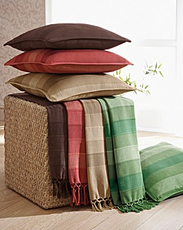 Roma Stripe Throw 2 Pack