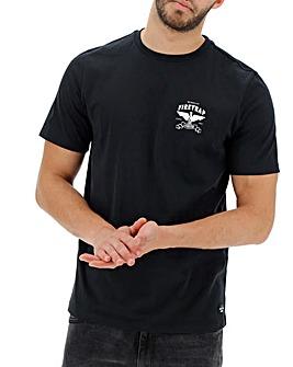 Firetrap Empire Back Print T-Shirt