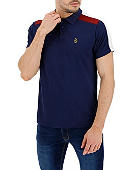 Luke Sport Spinna Tricot Colour Block Polo