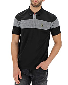 Luke Sport CBP Pique Sports Stripe Polo