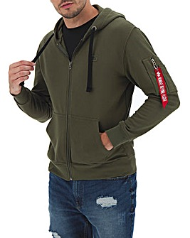 Alpha Industries X-Fit Zip Hoody