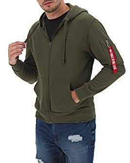 Alpha Industries Basic X-Fit Zip Hoody