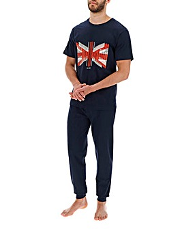 Ben Sherman Union Jack Pyjama Set