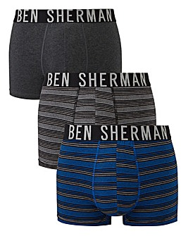 Ben Sherman Pack of 3 Hipsters