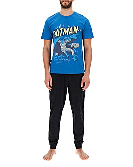 Batman Blue Long PJ Set