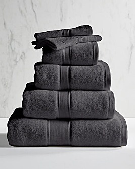 Supersoft Snuggle 450gsm Towel Gunmetal