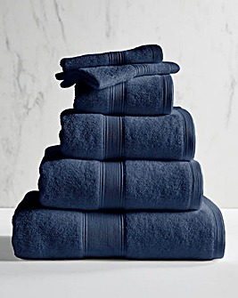 Supersoft Snuggle 450gsm Towel Navy