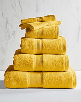 Supersoft Snuggle 450gsm Towel Mustard