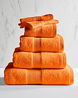 Supersoft Snuggle 450gsm Towel Tangerine