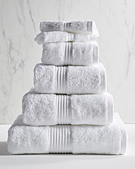 Egyptian Cotton 600gsm Towel White