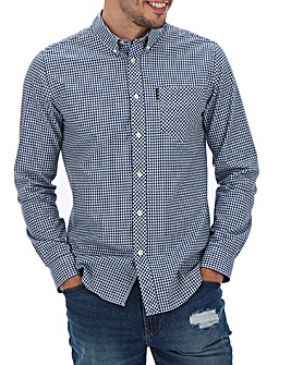 Ben Sherman Gingham Long Sleeve Shirt L