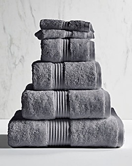 Egyptian Cotton 600gsm Towel Anthracite