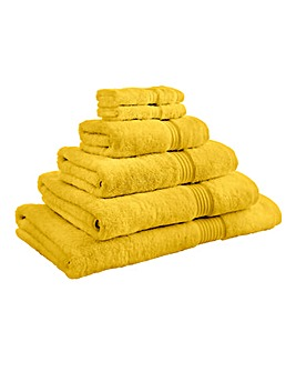 Egyptian Cotton 600gsm Towel Ochre
