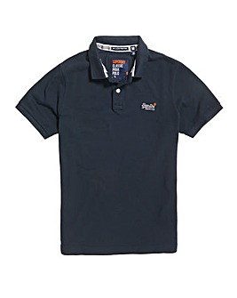 Superdry Classic Pique Navy Polo