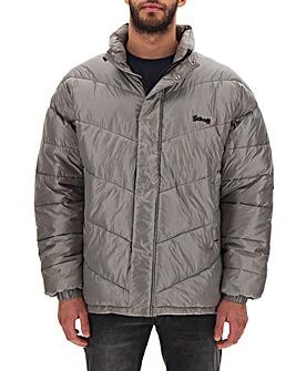 Schott Silver Padded Jacket