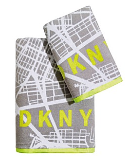 DKNY City Map Towel