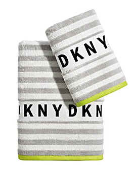 DKNY Ticker Tape Towel