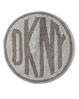 DKNY Circle Logo Bathmat
