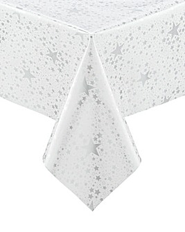 Stars PVC Wipe Clean Tablecloth