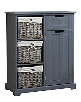 Charlotte Cabinet with Basket Drawers