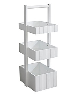 Charlotte 3 Tier Wooden Bathroom Caddy