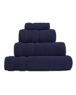 Egyptian Cotton Towel Range Navy