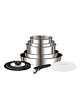 Tefal Ingenino Stainless Steel 13 Piece Set