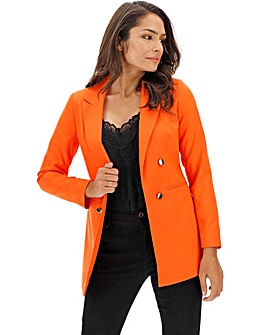 Orange Mix & Match Fashion Blazer