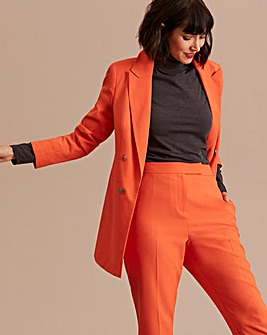 Orange Mix & Match Fashion Blazer