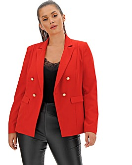 Premium Stretch Red Trophy Blazer