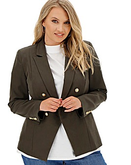 Premium Stretch Khaki Trophy Blazer