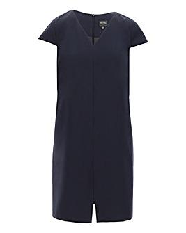 Navy Tailored Workwear Dress