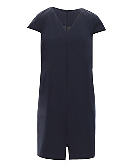 Navy Tailored Workwear Dress