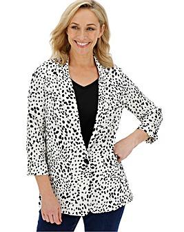 Dalmatian Print Blazer