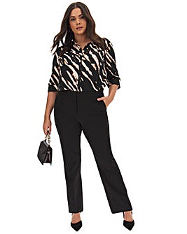 MAGISCULPT Straight Leg Trousers Regular