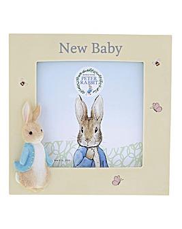 Peter Rabbit New Baby Photo Frame