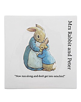 Mummy Rabbit Wall Plaque